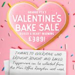 Bake sale raises a heart warming £389