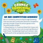 Gardening club are winners!