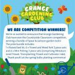 Gardening club are winners!