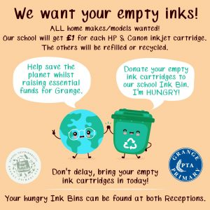 We want your empty inks!