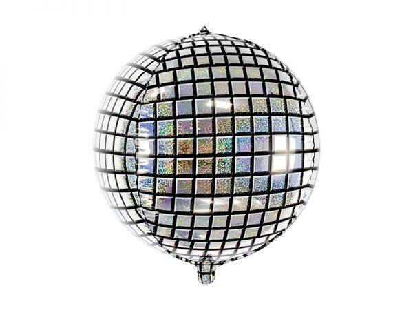 Glitter ball large balloon