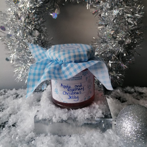 APPLE AND ROSEMARY CHRISTMAS JELLY