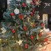 8 pack kraft Christmas tree decorations