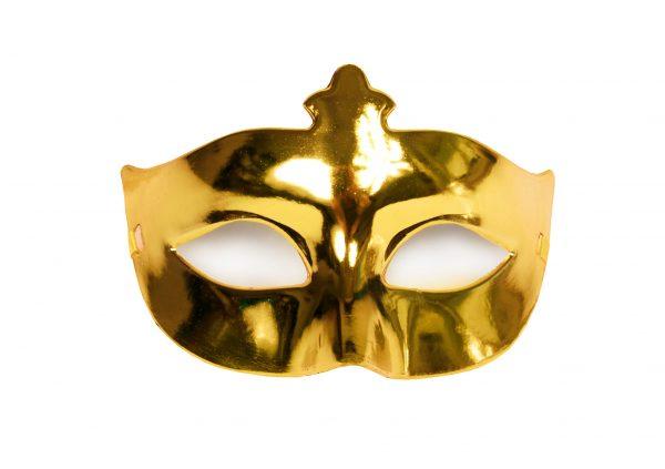 NYE Gold Mask
