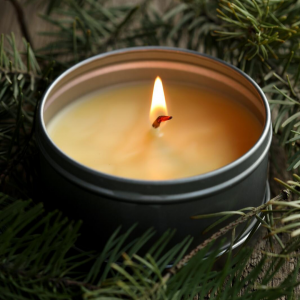 GREEN MYRTLE, GINGER AND HO WOOD HANDMADE CANDLE 160G