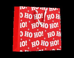Ho ho ho Large Gift Bag