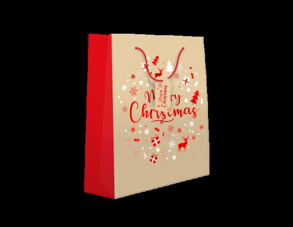 Extra Large kraft Christmas gift bag