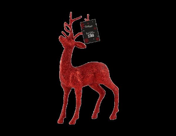 Red Reindeer Decoration